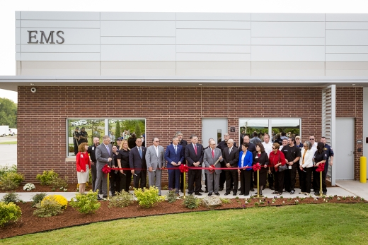 Tribe cuts ribbon on EMS building