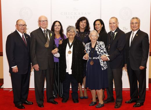 Five Inducted into Chickasaw Nation Hall of Fame